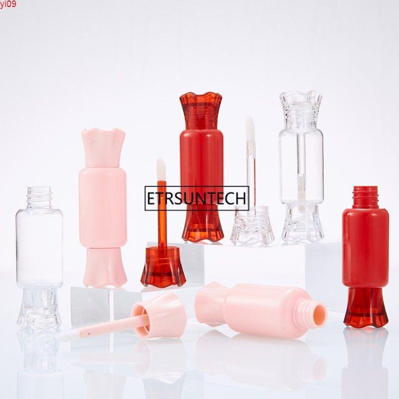 8 ml Nette leere Süßigkeitenform Lip Gloss Rohr Klarer flüssiger Lippenstift Nachfüllbarer Behälter Schöne F20171401Good Menge