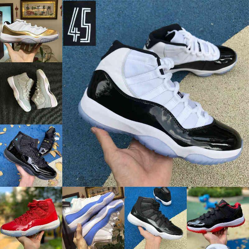 2021 جديد بانتون ولدت 11 11 ثانية أحذية كرة السلة الذكرى 25 الفضاء مربى جاما الأزرق عيد الفصح كونكورد 45 فوز مثل بارد رمادي منخفض كولومبيا حذاء أحمر أبيض T18
