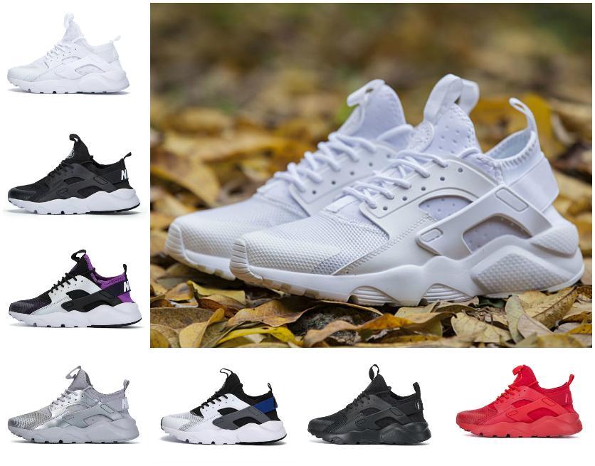 Top Quality 2021 Treinadores Huarache Ultra 4.0 Surache Correndo Tênis para Mens Womens Triple Branco Todos os Black Huraches Harache Sneakers