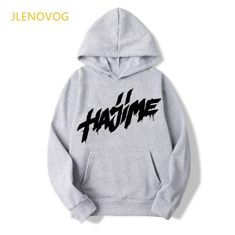 Vêtements Funny Femmes Hajime Miyagi Lettre Print Sweats à capuche Femme Hip Hop Sweat-shirt Harajuku Kawaii Vêtements Tracksuit Coat Sweatshirts