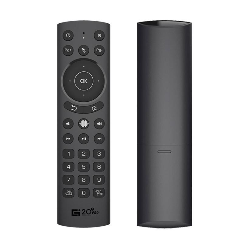 Remote Controlers G20S PRO 2.4G Wireless Smart Voice Backlit Air Mouse Gyroscope IR Learning Google Assistant Control For Android TV BOX
