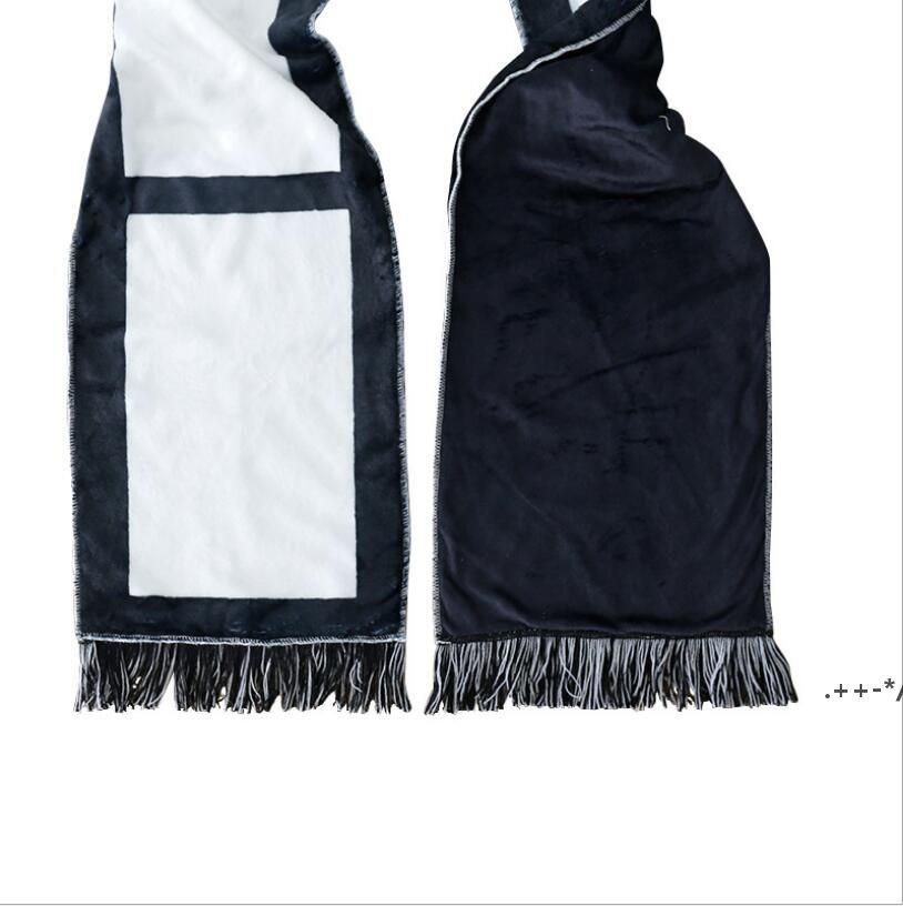 Sublimationsschals-Decke mit Quasten doppelseitig Schal für Thermaltransferhandtuch Großhandel Rohlinge FWC7043