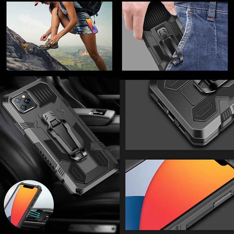 Hybrid Casos à prova de choque para moto g Power 2021 Stylus Play LG Stylo 7 6 4G STINHA7 5G K51S K61 Holster com CLIP BELHOR APOIAR Montagem de carro Montagem Rígida TPU Capa Defender