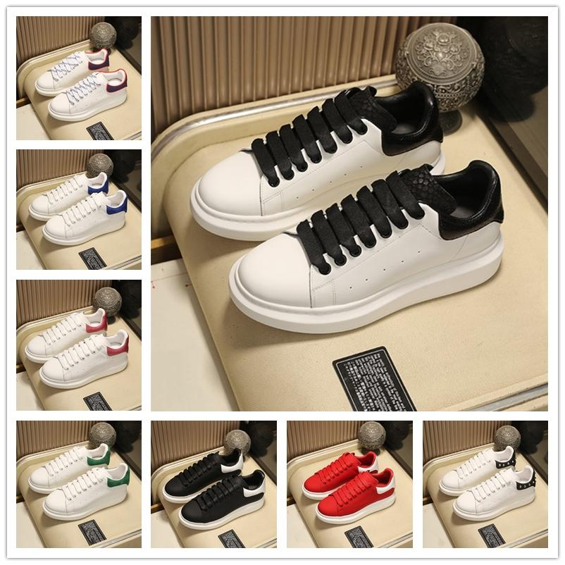 [Caixa original + Meias] Luxurys Designers Homens Mulheres Branco Sapatos Espadrilles Flats Plataforma Oversized Top Quality Espadrille Flat Sneakers Tamanho 36-45