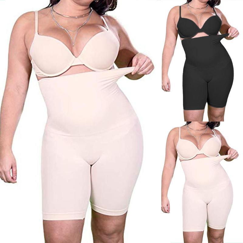 Fitnessstudio Kleidung Frauen Shapewear ultradünne hochtuchte Shaper Panty Body Bodysui Hohe Taille Forming Unterwäsche A1
