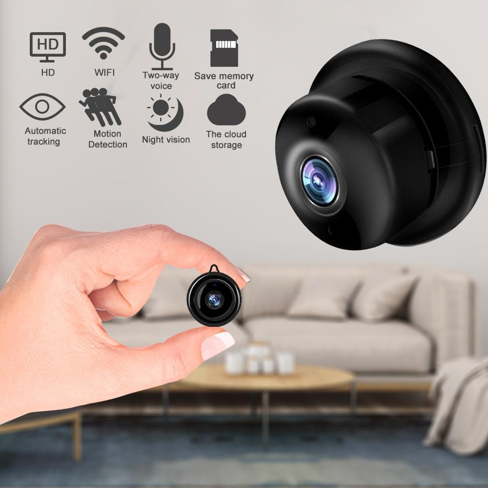 Cámara inalámbrica Mini IP 1080P HD IR CCTV Visión nocturna infrarroja Micro Camera de seguridad de seguridad de seguridad WiFi Cámara de monitor de bebé