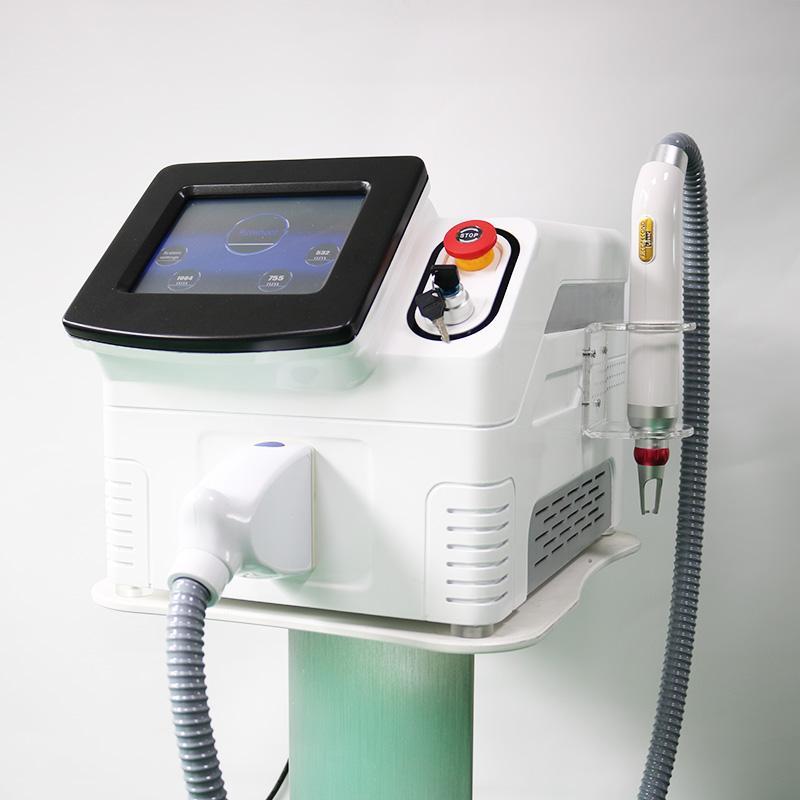 Picosecond Tattoo-Entfernungsmaschine 1064nm 532nm 755nm 1320nm Pico Laser Akne Behandlung Hautverjüngung Professionelle Carbon Peel Schöne Ausrüstung