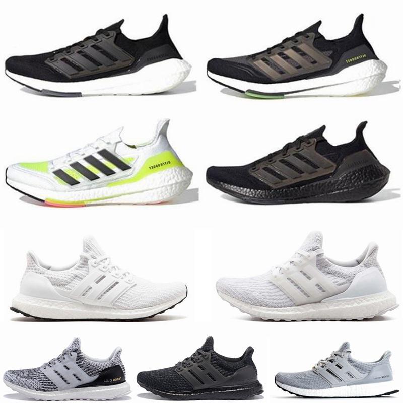 Ultra Boost 4.0 7.0 Обувь Primeknit Oreo Черное солнечное ядро Тройное белое серые мужчины Женщины бегают обувь ультрабустки спортивные кроссовки