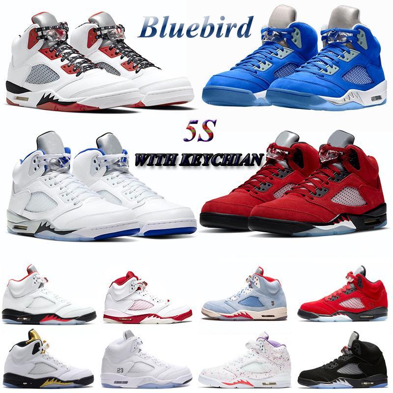 5s Zapatillas الرجال أحذية كرة السلة أسود لامع النار الأحمر 2020 الأحذية الذهبية الأولمبية رجل رياضة حذاء رياضة مدرب