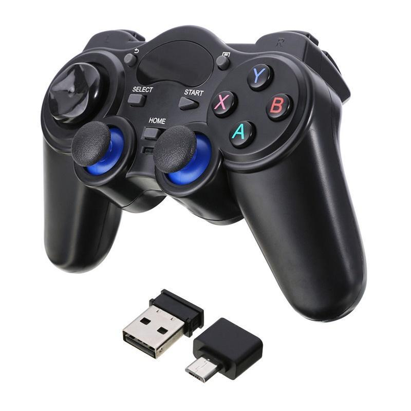 2.4G Type-c Wireless Gaming Controller Gamepad Micro Usb Smart Phone Joystick Joypad Converter For Android Tablets PC TV Box Game Controller