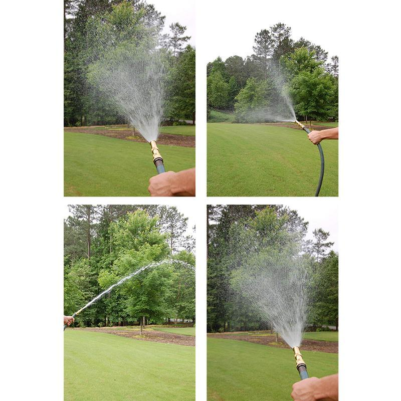 High Pressure Home Hose Wand Garden Irrigation Brass Lawn Sprinkler Connector Watering Multifunctional Industrial Spray Nozzle Equipments