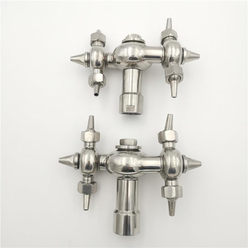 """3/4 """"1"""" 1,2 """"1,5"""" 2 """"großer Behälter Waschsprayer Tank Reinigungsdüse 360 ° TROWART HIGH PROWN Spray Head Watering Equipments"""