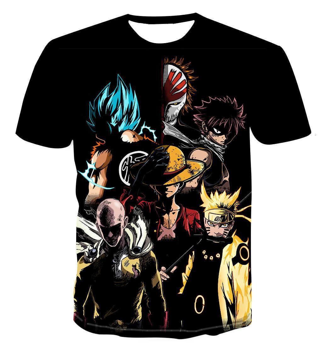 Sommer 3D T-shirt Cartoon-Charakter Kurzarm-Digitaldruckliebhaber 'vielseitiges Top