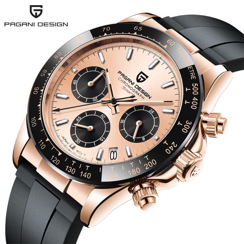 Cross Border Watch, Men's Quartz Multi-function Timing, Refined Steel, Waterproof, Fashion, Luminous Tide, Wristwatches