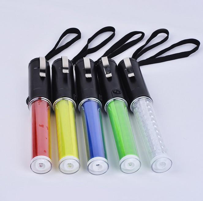 다기능 플래시 라이트 PVC 트래픽 형광 LED 비상 대피 도구 차량 플래시 W 배너 빛