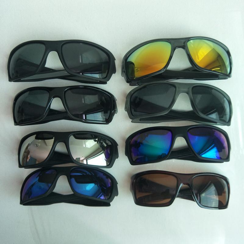 Uomini estivi che guidano gli occhiali da sole degli occhiali da sole degli sport occhiali da sole Goggle Brand Bicycle Bicycle Glasses DAZZLE Colore 8 Colore