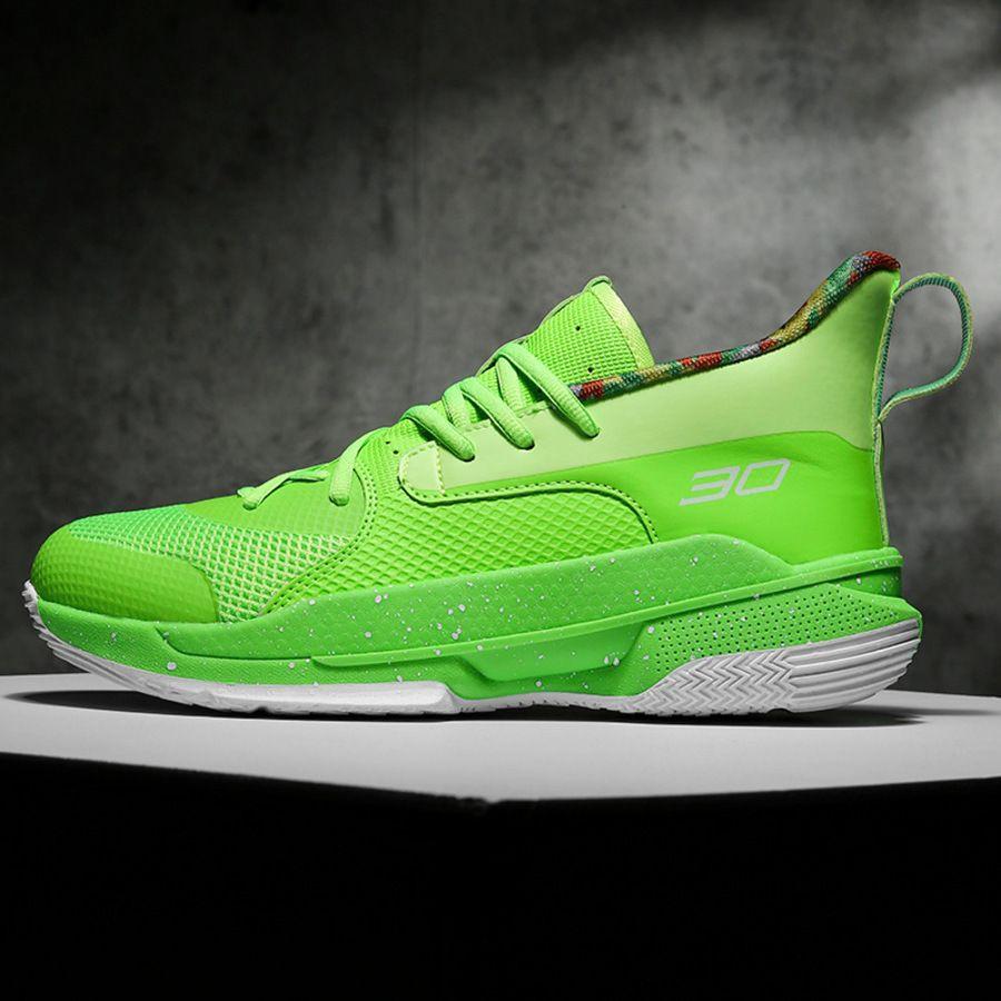 Geração Candy 7 Cor Primeira Juventude Casal Lazer Esportes Sapatos Curry Basquete Combate Real Botas Fsyi