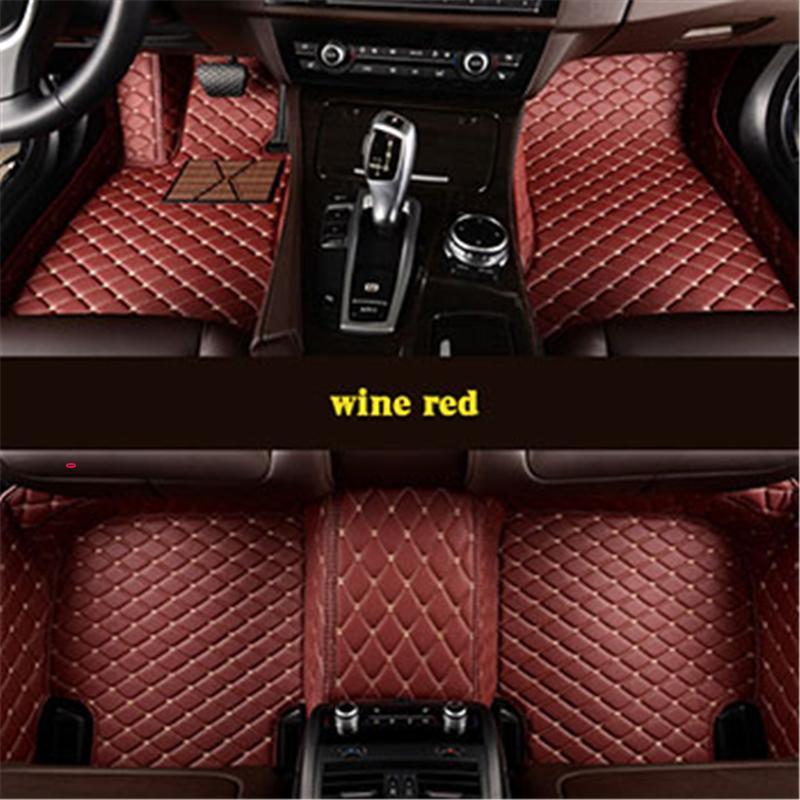 Custom car floor mats for Porsche All Models Cayman Macan Cayenne Panamera Boxster 718 auto stylingaccessories