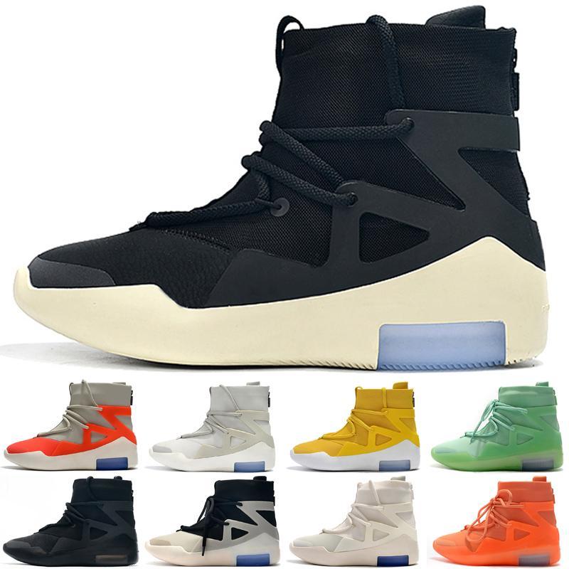 2021 Korku Kral Açık Ayakkabı Tanrım Ayakkabı Erkekler Bayan Sis Çizmeler Siyah Sarı Spor Sneakers Eğitmenler Boyutu 36-46