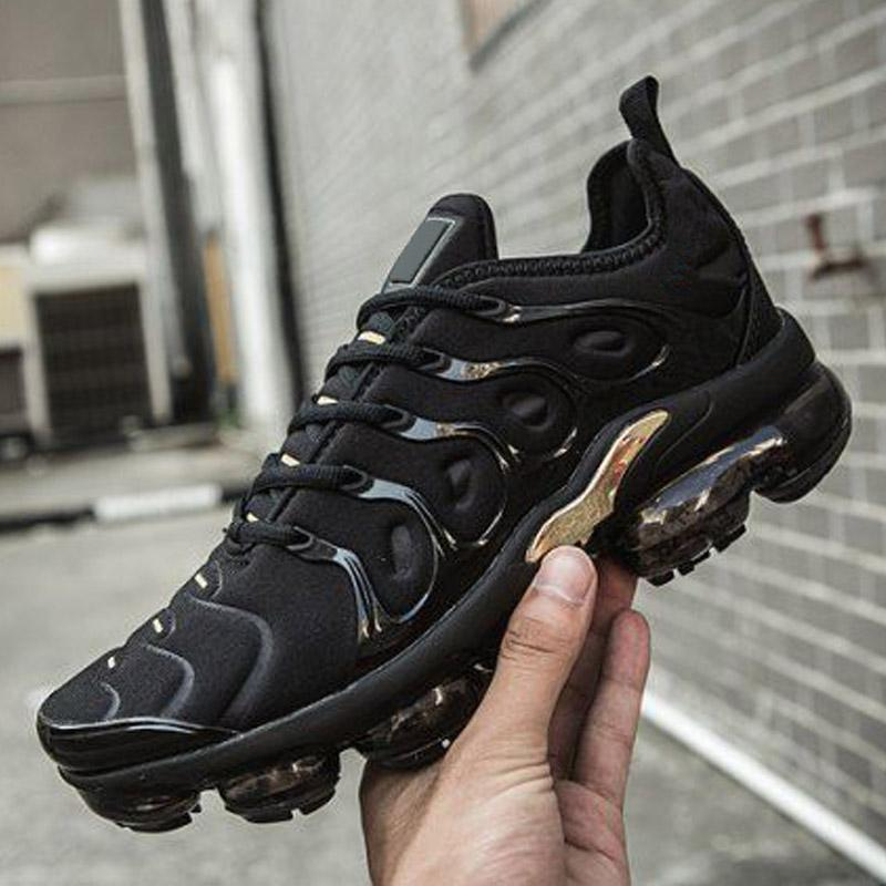 Haber TN Artı Siyah Üçlü Beyaz Neon Volt Erkek Koşu Ayakkabıları Kadın Spor Krem Racer Eğitmenler Sneakers