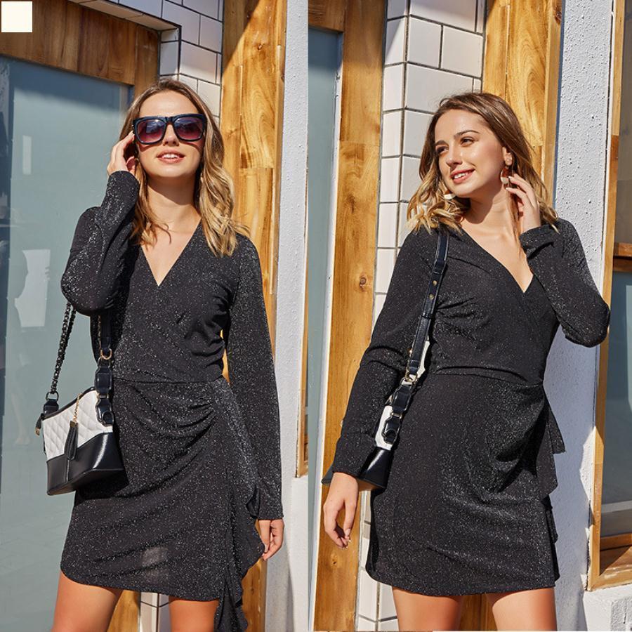 Abbigliamento donna donna 2021 Abiti Abiti Camicette estive Donne di alta qualità Designer Designer Dress Simplicity Outfits Black Vintage Vintage Vestiti moda coreana Plus Size XJ072
