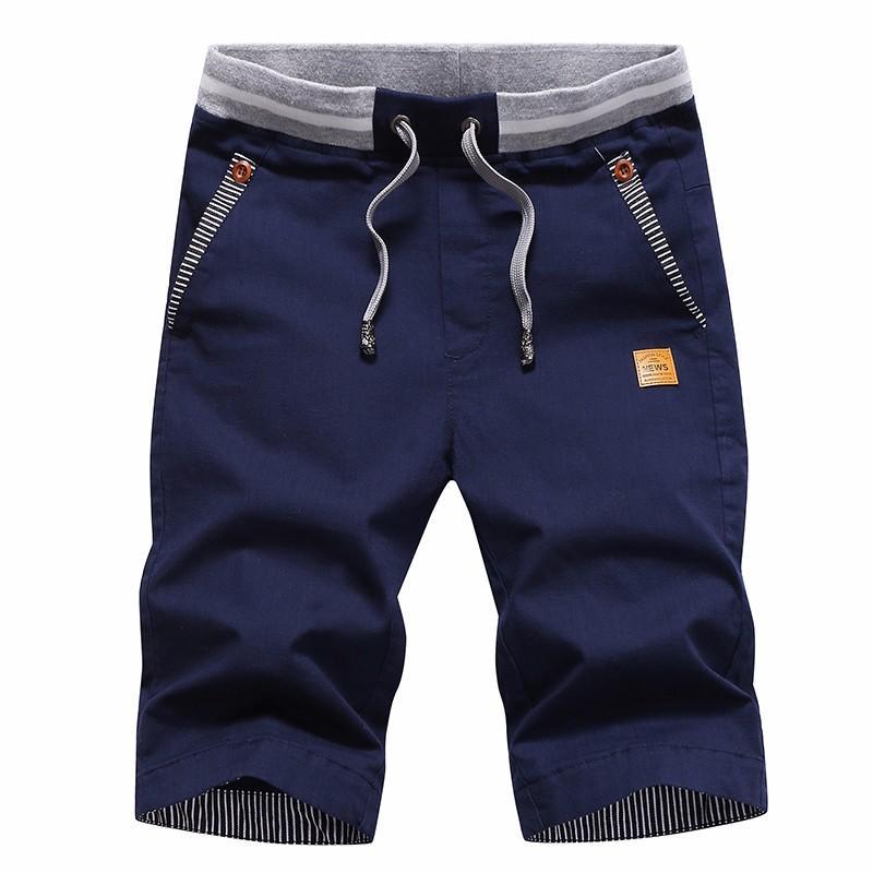 Nuova biancheria da estate Five Pantaloni da uomo Casual Casual Korean Slim Shorts Youth Trend Beach Pants