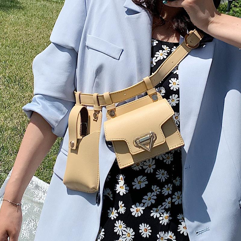 تصميم جديد بارد صغير بو الجلود حزم فاني للنساء 2020 حقيبة سفر حزام الخصر حزم الإناث الهاتف المحافظ سيدة أكياس الصدر 1