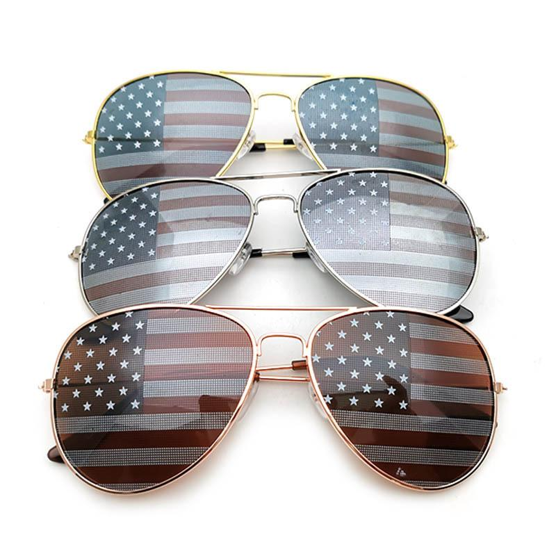 Occhiali da sole in metallo americano in metallo americano occhiali da sole a sfera