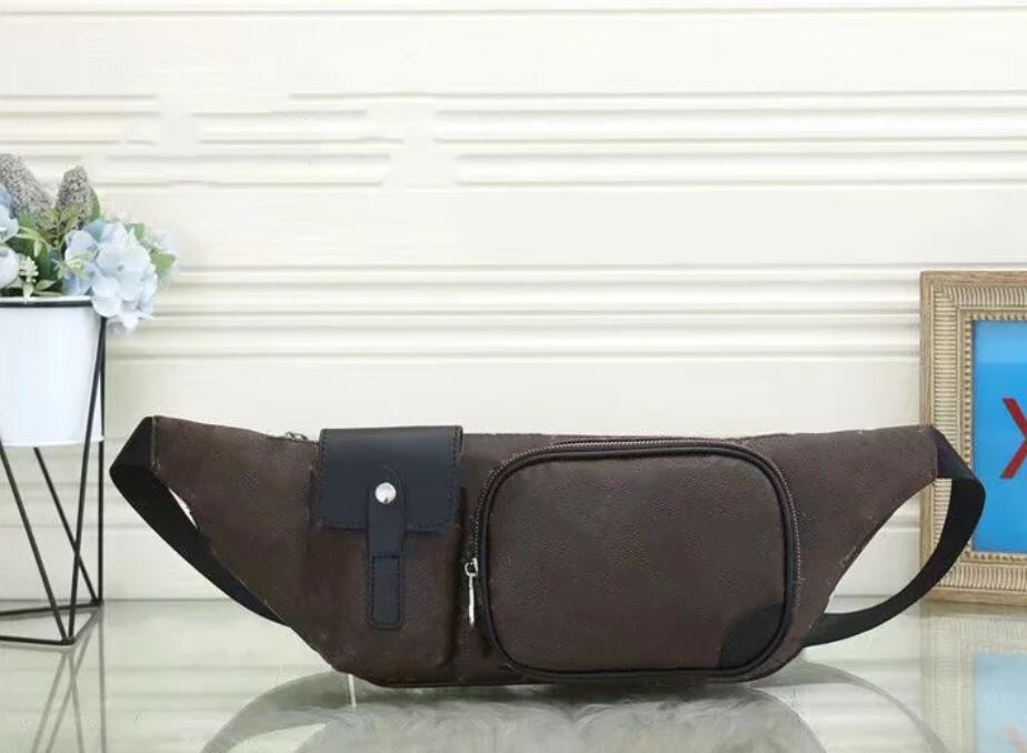 Designers de luxo sacos de cintura cruzar corpo mais novo bolsa famoso Bumbag Moda Bolsa de ombro Brown Bum Fanny Pack com três estilos