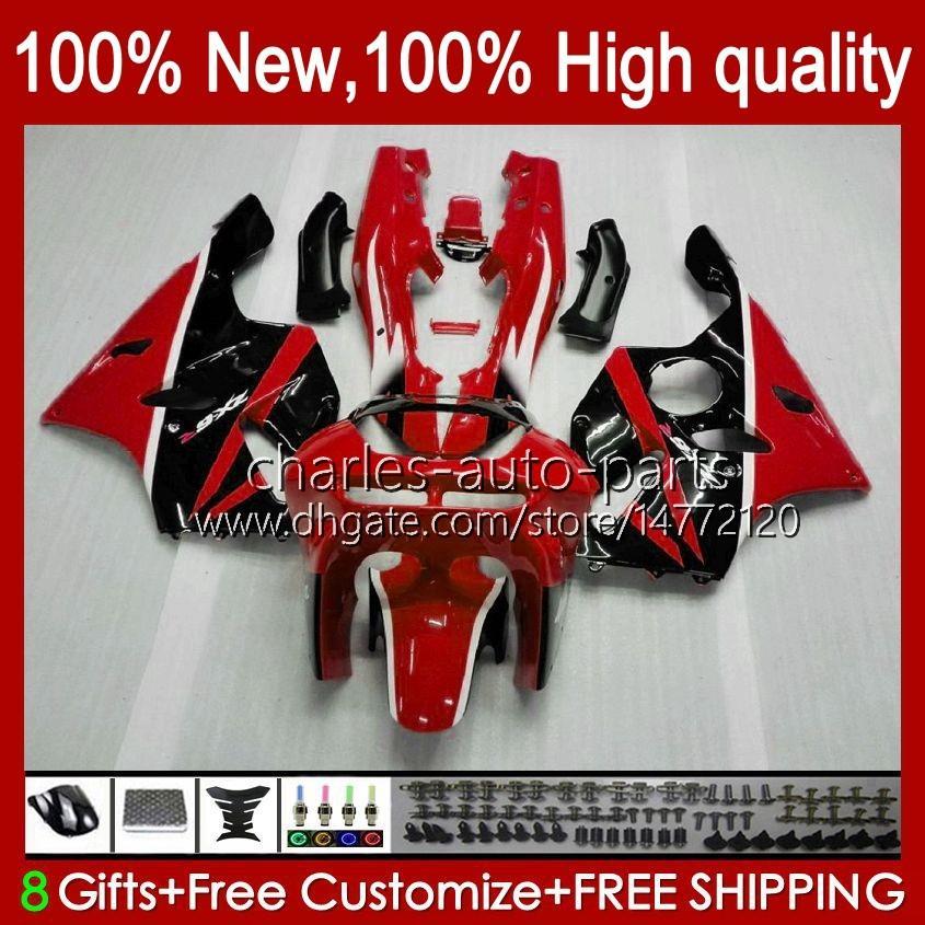 Fairi per Kawasaki Ninja ZX 6R 636 600CC 600 cc 636 600cc 600 cc ZX-636 ZX6R 94 95 96 97 Bodywork 50HC.0 ZX636 ZX-6R 94-97 ZX600C ZX600 ZX 6 R 1994 1995 1996 1997 Bodys Kit Factory Red