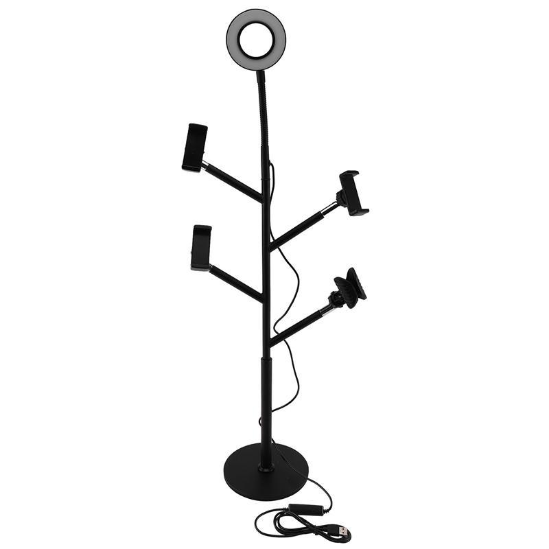 Multifunctional Desktop Bracket 3 Mobile Live Microphone Clip Accessories Anchor Beauty Fill Light CD50 T03 Flashes