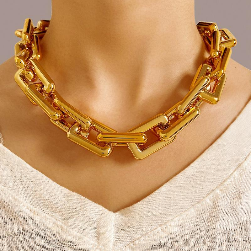 Pendant Necklaces Chunky Necklace Chokers For Women Chocker Birthday Gift Gothic CN(Origin)