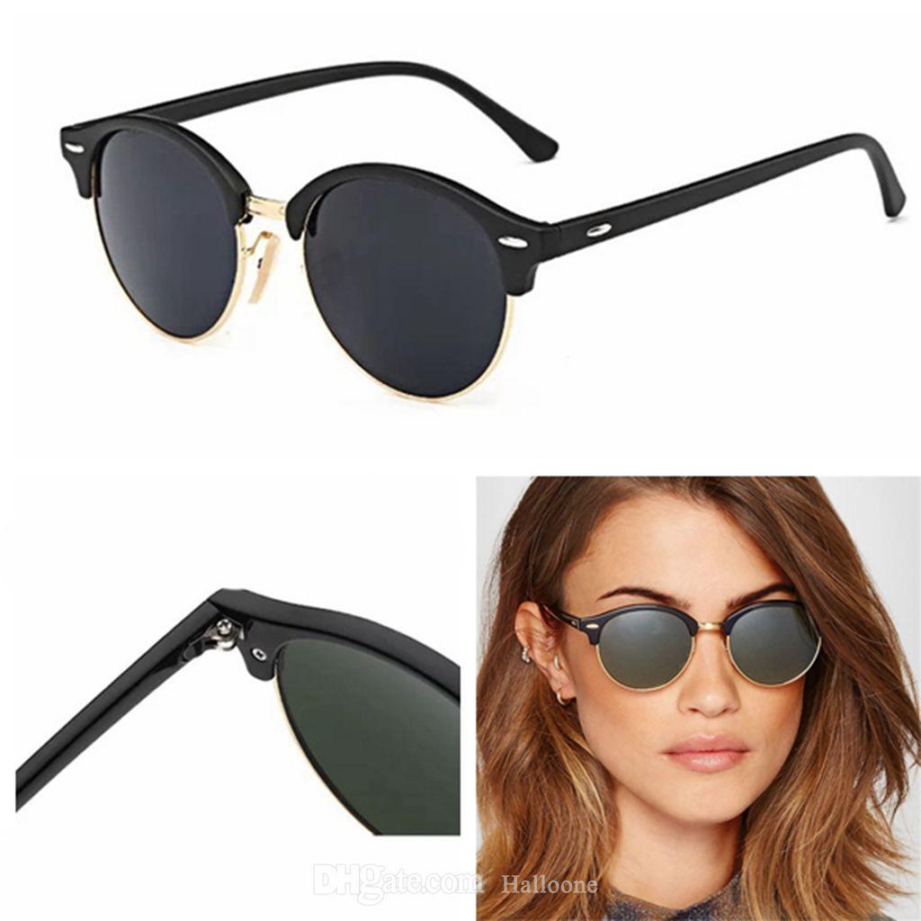 Classic Marca Luxo Óculos de Sol 2021 Homens Polarizados Mulheres Mulheres Das Mulheres Piloto Sunglass Designers UV400 ÓV400 Óculos Óculos de Sol Quadro De Metal Polaroid Lens