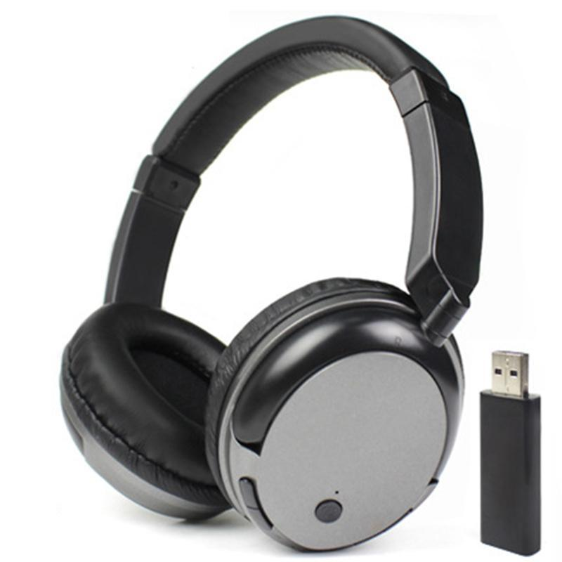 & MP4 Players TV Rechargeable Multifunction 2.4G Wireless Headset Headphones With Microphone For PC IPad Phones MP3 Gifts