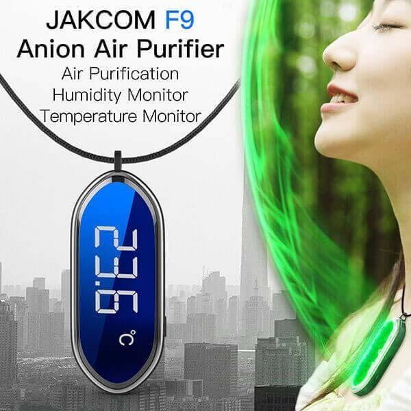 JAKCOM F9 Smart Necklace Anion Air Purifier New Product of Smart Wristbands as 10 pro key 4 banda 6