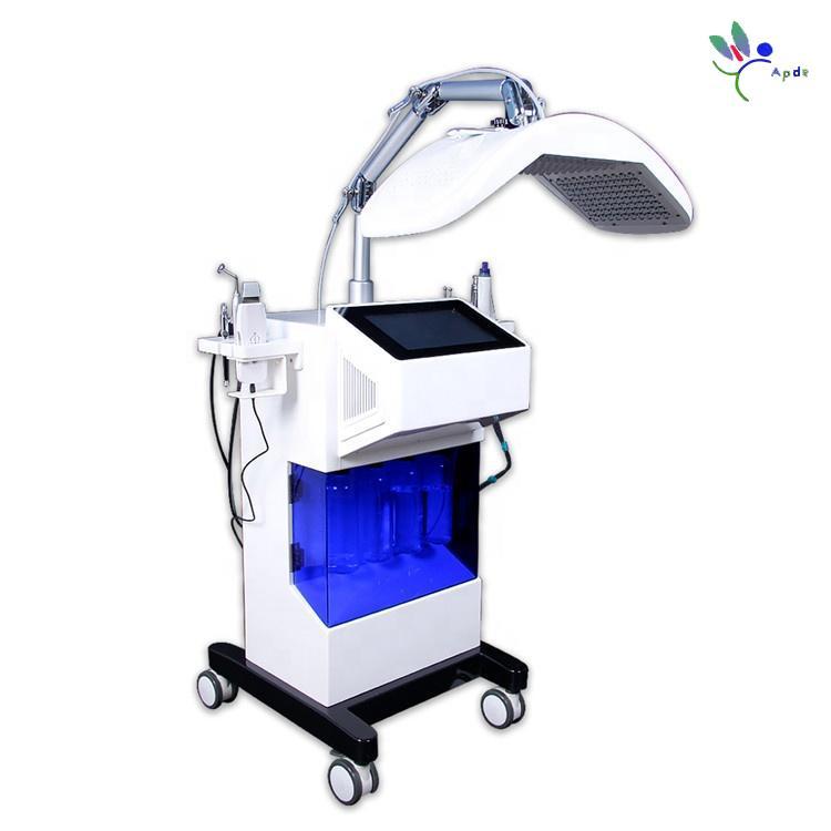 Hydro Oxygen Jet Microdermabrasion Équipement Skin Nettoyage De Profond Nettoyage RF RF Écran Solution Récensation d'acné Écran d'acné Retirer la machine
