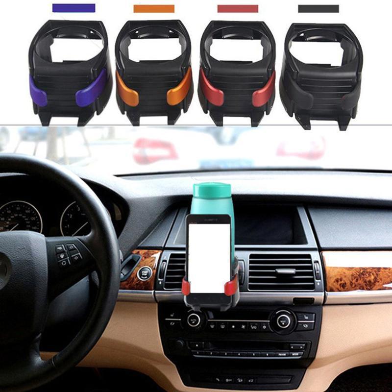 Telefone titular prático carro carro caminhão veículo ar condicionado ventilação de ventilação pode beber garrafa de água copo de café montar montagem monta