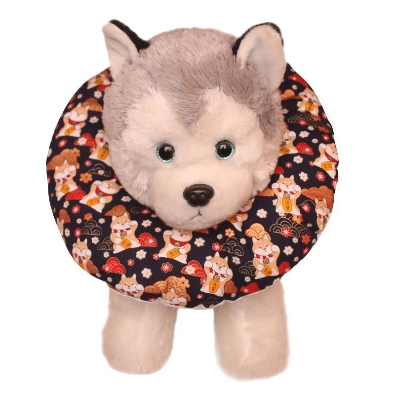 Collares de gatos conduce a Elizabeth Soft Colllar PET, enchufe y zócalo, esterilización de perros, anti-lamiendo anti-lamiendo anti-rosado, anillo de vergüenza.