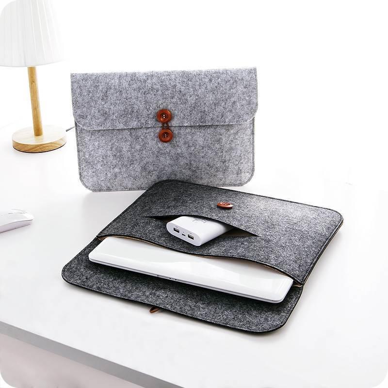 """Slim Custodia protettiva Laptop 11 13 14/15.6 """"12 sacchetto di rivestimento in feltro"""