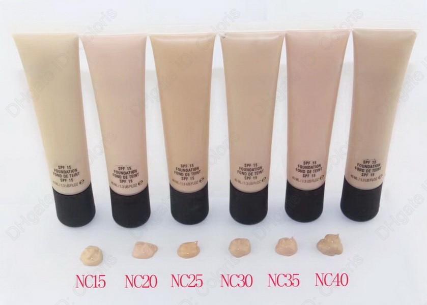 Maquillaje Fundación líquida Imprimación Brillante Larga Duración Nutritivo Nutritivo Nutritivo Fácil de usar Corrector de maquilladores Base SPF15