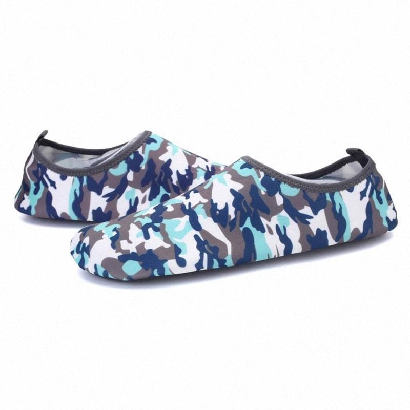 Мужчины Woman Surf Aqua Sports Sports летняя водяная обувь на открытом воздухе Ультра света на пляже Плавать повседневную бассейн мягкая кожа дышащий дайвинг O6LP #