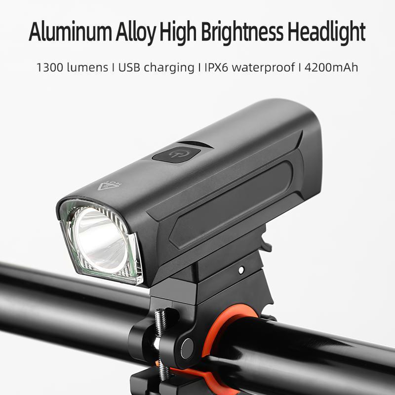 Bisiklet Işıkları USB Şarj Edilebilir Işık MTB Bisiklet Ön Geri Arka Arka Lambası Bisiklet Uyarı Su Geçirmez Lambası