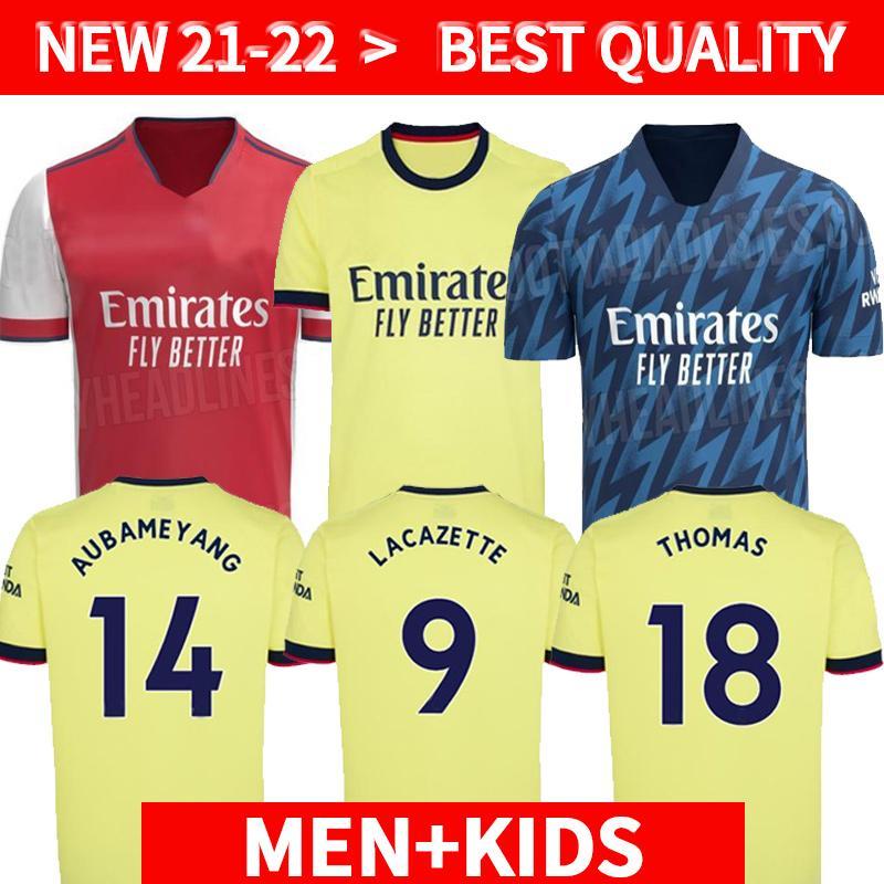 لاعب نسخة 21 22 ارسين لكرة القدم جيرسي بيبي نيكولاس ceballos هنري جوينديزي سكراتيس مايتلاند نيلز تيرني 2021 2022 امرأة قميص كرة القدم الرجال + Kids Kit