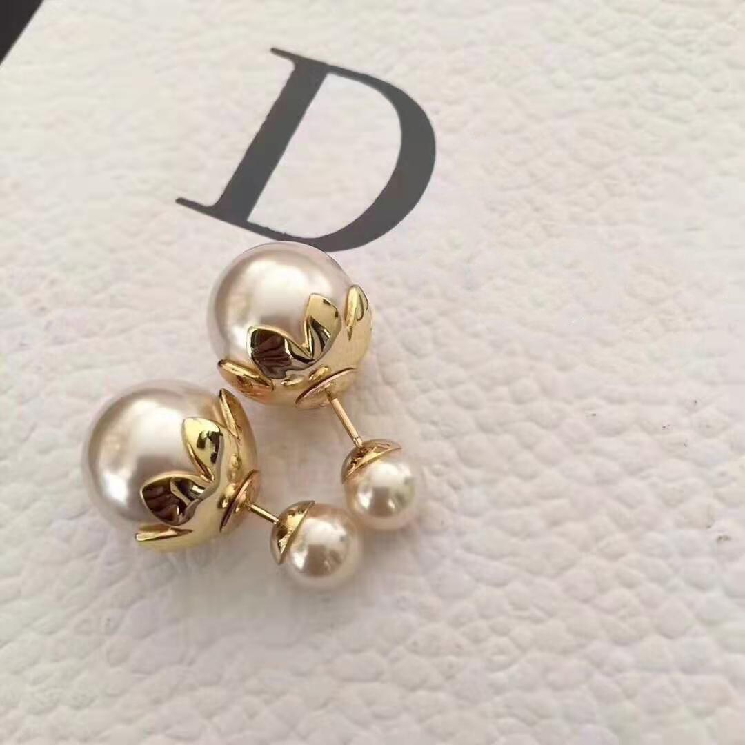 AAA Designer Jewelry 2021 New Pearl Earring net red temperament same home ins size silver needle Earrings