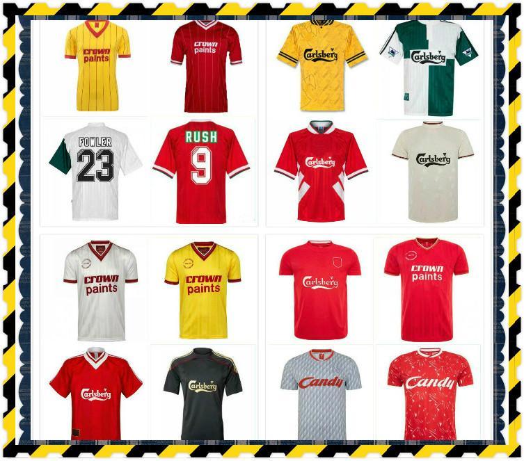 Ретро Torres Rush Dalglish Soccer Jersey 92 93 94 95 96 97 98 04 05 06 08 09 2001 Fowler Древняя футболка