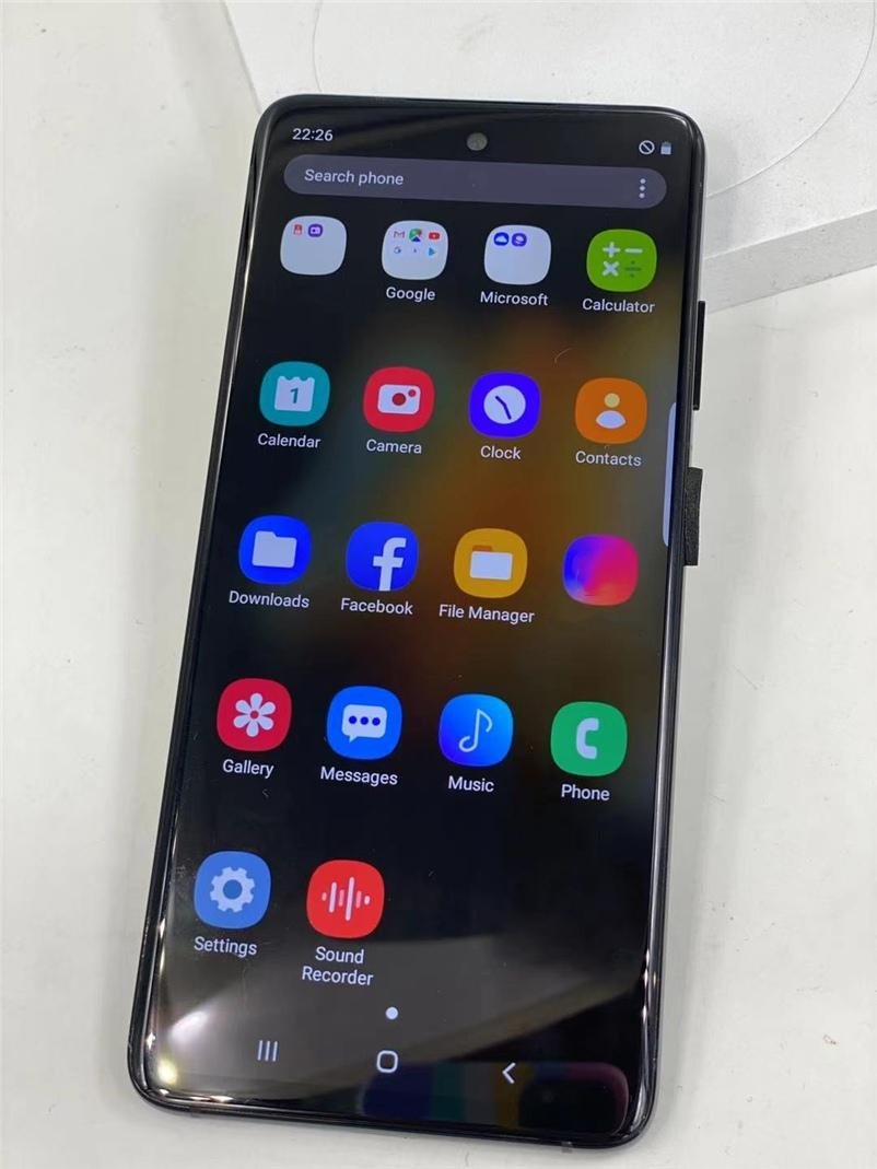الهواتف المحمولة 6.8 بوصة HD Goophone S21 الترا RAM 1GB ROM 8GB WCDMA 3G رباعية النواة كاميرا 8.0MP أندريود 10 نظام التشغيل عرض 5G 12 + 512GB PK S20 Note20 12 Pro Max