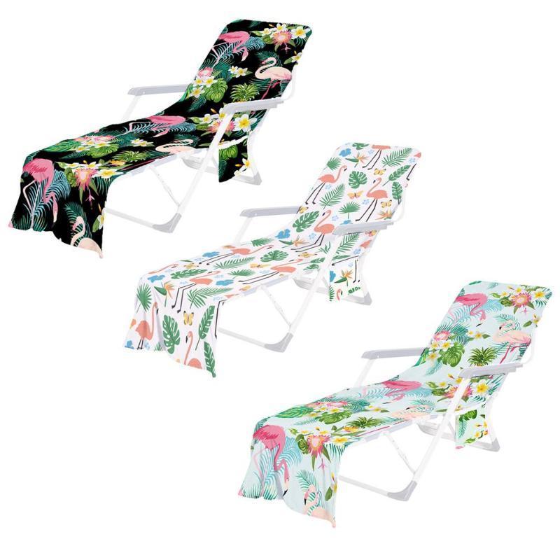 Cubiertas para sillas de playa Piscina Piscina Chaise Lounge Toalel para tomar el sol elegante y colorido elección perfecta