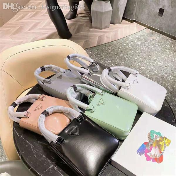 Señoras 2021 Bolsas de axilas Calidad de lujo Bolsa de hombros Bolsos Bolso Bolso Patrón Patente Tela Material Material de alta gama All-Match Multi-Color Opcional Ocio