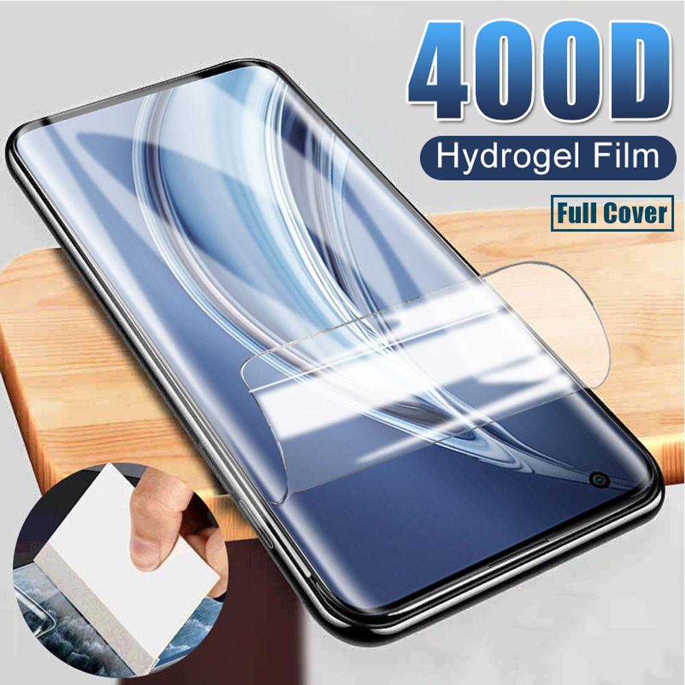 Soft screen protectors full cover protective for xiaomi 9 se lite cc9e cc9 9T hydrogel film mi note 10 pro Not glass