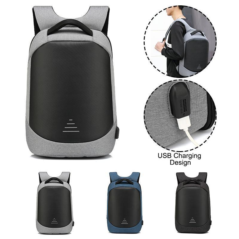 Mochila Hombres Impermeable Anti-Robo Casual para Mujeres Adolescentes Negocios USB Laptop Portátil Bolsas de viaje de gran capacidad Mochila